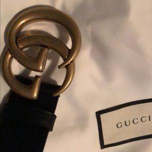 Gucci Marmont GG belt 90 CM medium 100% authentic